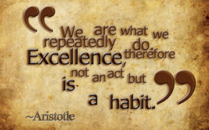 Aristotle consistency quote
