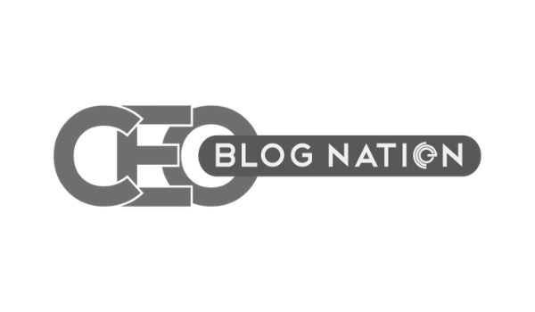 CEO Blog Nation Logo Grayscale