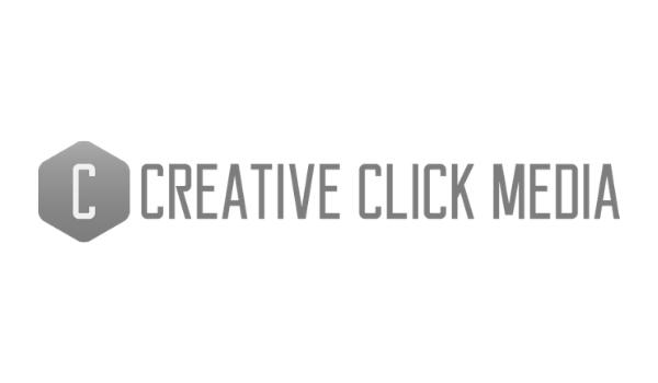 Creative Click Media Logo Grayscale