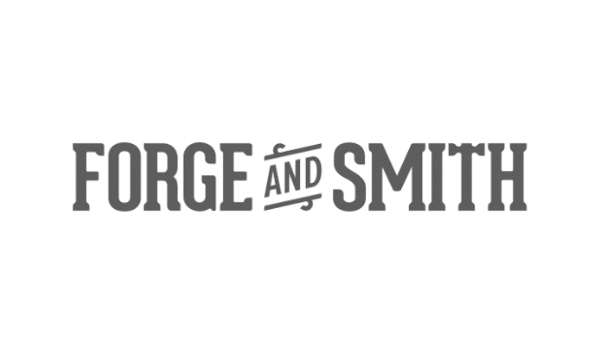 Forge & Smith Logo Grayscale